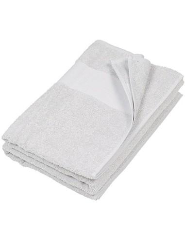 Drap de bain sportswear 70 x 140 cm 100 % coton