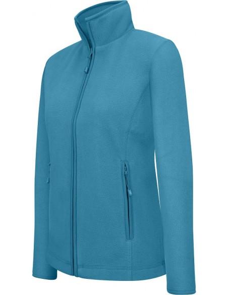 Veste femme sportswear maureen micropolaire 100 % polyester
