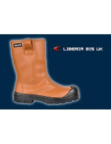 LIBERIA BIS UK S3 CI SRC Bottes de sécurité cuir hydrofuge