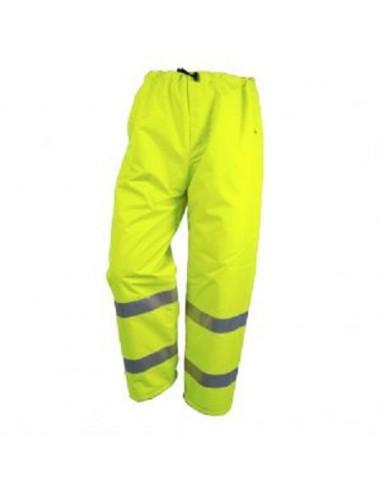 Pantalon de pluie respirant MAEVA  haute visibilité