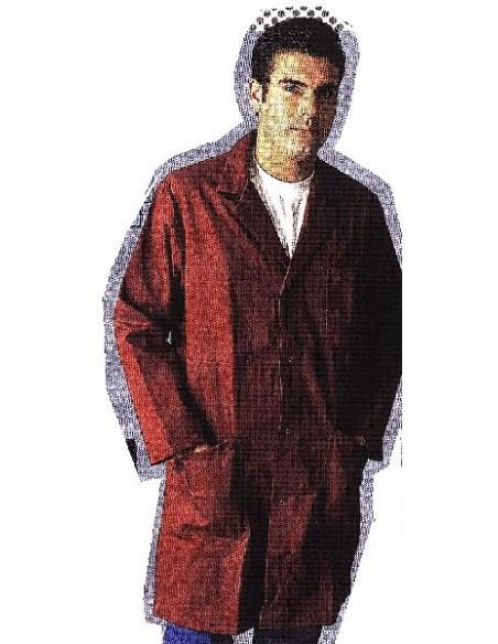 Blouse homme droite pressions 65 % coton 35 % polyester 300gr