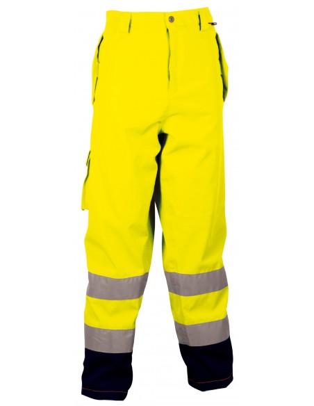 REFLEX Pantalon 2 ouvertures sur le coté avec patte - 1 poche à l'arrière avec patte - 1 grande poch