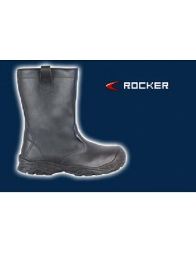 ROCKER UK S3 C ISRC Bottes de sécurité cuir imprimé