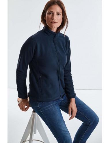 Veste zippé polaire femme anti peluche 100 % polyester