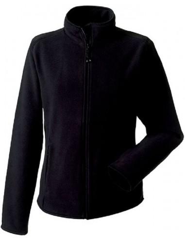 Veste femme micropolaire zippée  100 % polyester