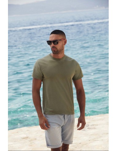 Tee-shirt unisexe manches courtes col rond 100 % coton