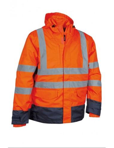 TELSEN Parka haute visibilité 3en1 100 % polyester enduit PU 175gr