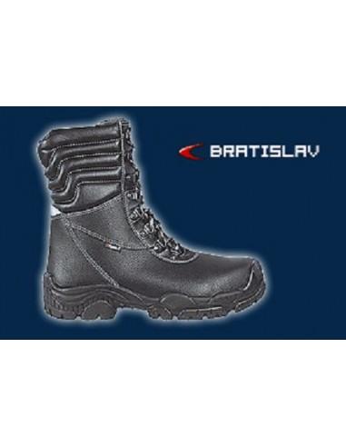 BRATISLAV S3 CI SRC Bottes de sécurité cuir imprimé