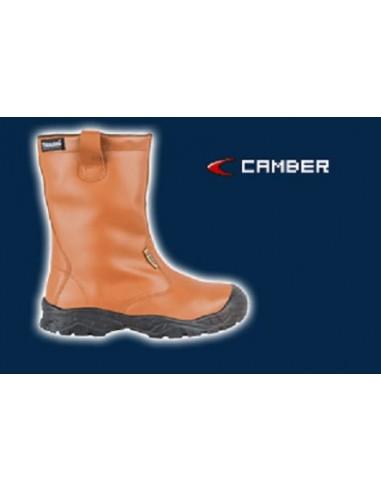 CAMBER UK S3 CI SRC Bottes de sécurité cuir