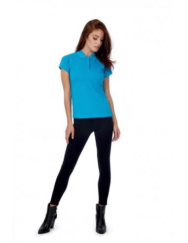 Polo femme sportswear manches courtes 100 % coton ring spun 180gr