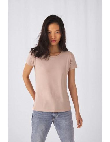 Tee-shirt femme manches courtes col rond coton bio 140 g/m²