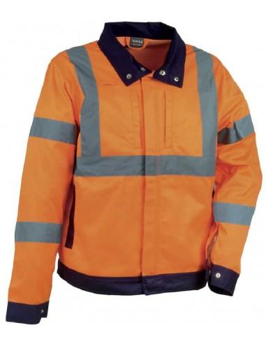 DAZZLE Blouson HV 65 % polyester 35 % coton 300gr