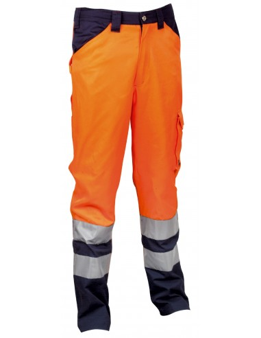 ENCKE Pantalon classe II 65 % polyester 35 % coton. 2 poches large à l'avant poche mètre. élastique