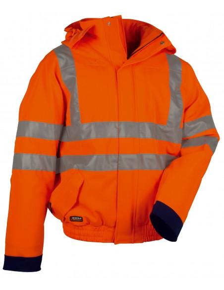 FLUO Blouson  94% Polyester 250 g/m2, 6% elastan